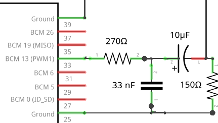 PWM-Audio RC-Filter